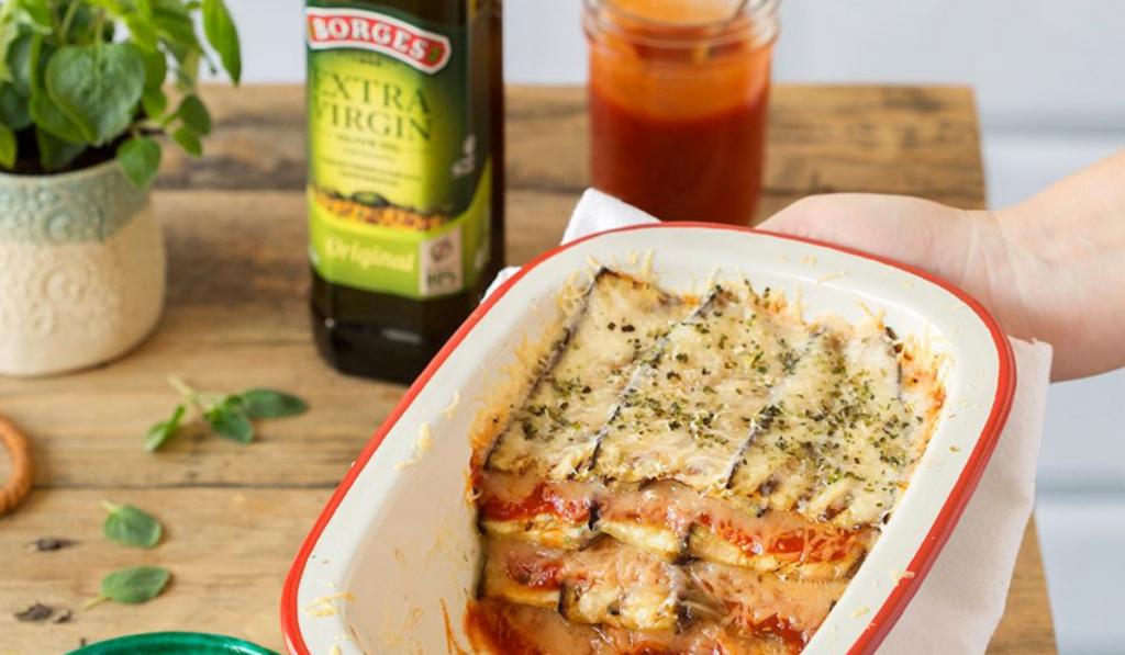 Berenjenas parmesana