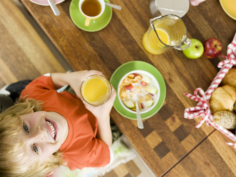Borges - handy hints for healthy eating for kids