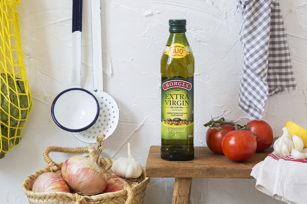 Borges Extra virgin olive oil - healthy diet