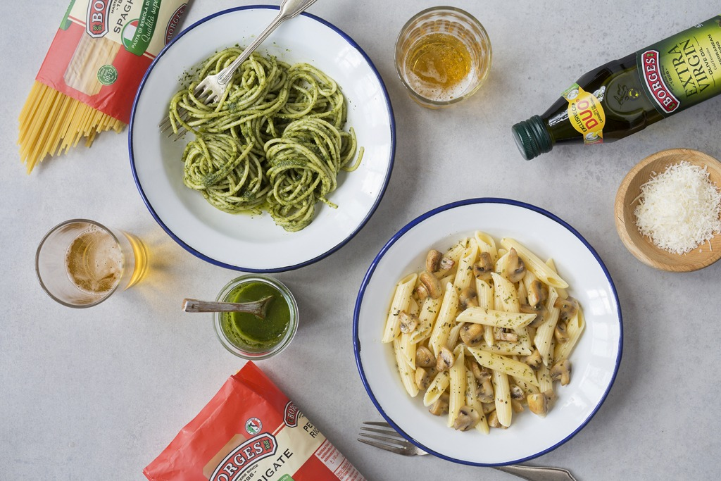 Borges - summer sauces for pasta