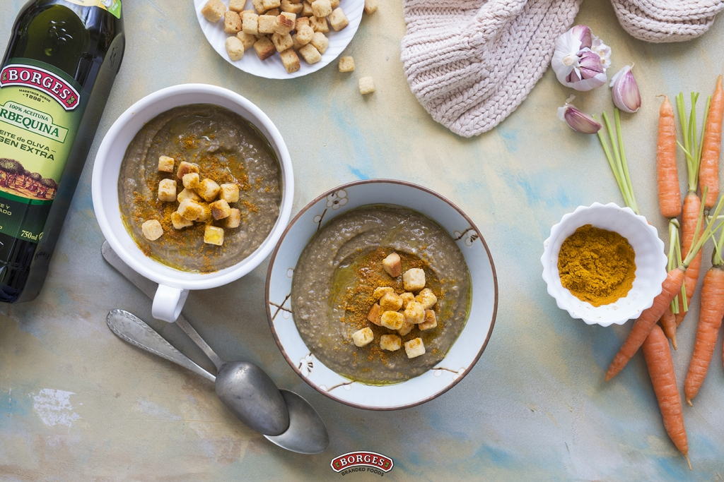 Borges - Lentil and olive oil soup
